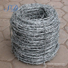 Barbed Wire Hot Dipped Double Twist 2.0mm Roll Price Fence