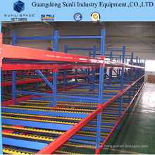 Steel Storage Roller Flow Self Slide Gravity Rack