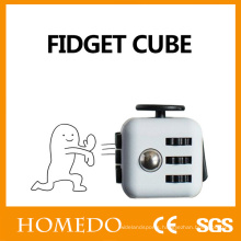 Educational toys fidget cube wholesale 3d magic fidget cube dice with buttons