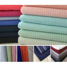 Вафельная ткань высокого качества из 100% хлопка 32s