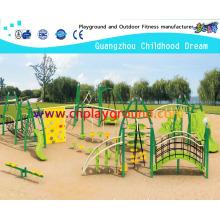 Steel Structure Outdoor Playground Equipment on Stock (HA-11901)
