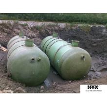 Unterirdischer Tank für korrosive und radioaktive Substanzen