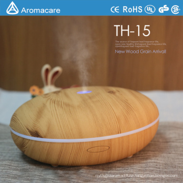 Aromacare 350ml wood nebulizing diffuser