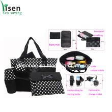 Мода печати точки пеленок мешок набор (YSDB00-004)