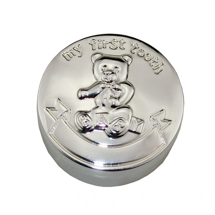 Hot Sell Zinc Alloy Little Bear Tooth Box