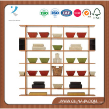 6′ Wide Retail Display Shelf with 6 Shelves