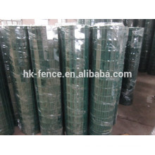 """pvc coated welded euro fence holland mesh in roll 3"""" x 3"""""""