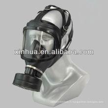 MF18 Type masques à gaz respiratoires militaires en silicone