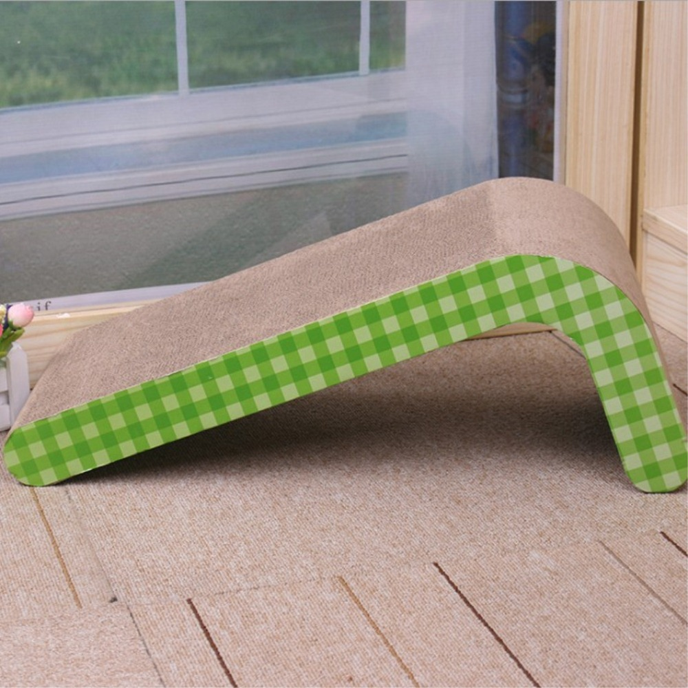 Cat Scratching Board Bed