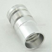 Usinagem de precisão de experiências ricas personalizadas com qualquer parte de torneamento de alumínio de tratamento de superfície