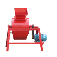Small rock crusher for brick block machine