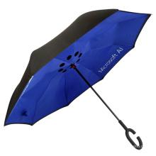 рекламная печать логотипов оптом перевернутый зонт против ветра