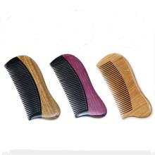 peigne à cheveux en gros de bambou