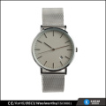 Watch quartz classic men wrist watch stainless steel back