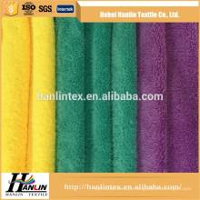 Limpeza de carro tingido tecido de toalha microfibra atacado