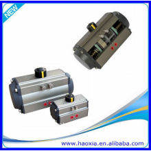 spring return piston pneumatic actuator valve
