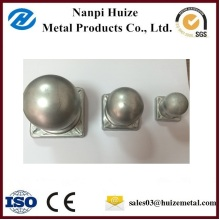 Galvanized Steel Round Fence Post Cap