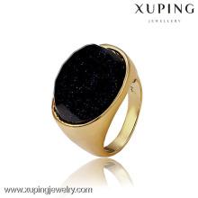 12807- Xuping atacado moda elegante ouro 18k anel de mulher da China