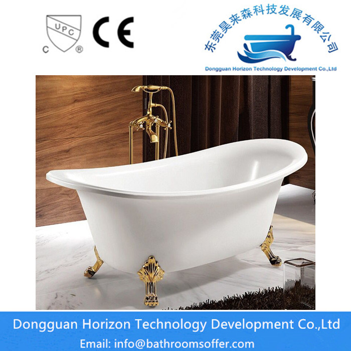 Corner Clawfoot Bathtub