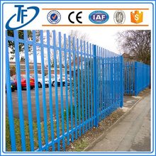 Ornamental Steel Fence/Welded steel picket fence