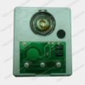 Périphérique audio, puce audio, module audio enregistrable