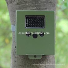 940nm negro LED MMS SMS cámara de arma de caza a prueba de agua
