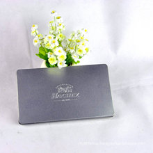 Rectangular Metal Tin Box with Silver Printing/Decorative Gift Metal Tin Box