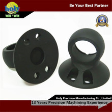 Electrical Custom CNC Aluminum Part by Black Anodized Finish
