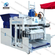 QTM10-25  Automatic Egg Layer Mobile Block Making Machine Moving Hollow Block