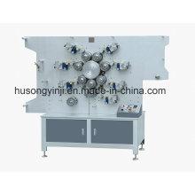 7 Farben Rotationsdruckmaschine für Band und Satin Etikett