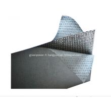 Feuille de matériau en graphite renforcé en métal