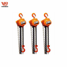 manual hoisting equipment 2 ton chain block