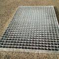 Eingangstürmatte aus Stahlgitter
