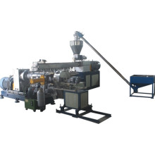 Two stage screw extruder machine for plastic