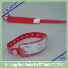 hospital vinyl write on bands identification tape disposable tape