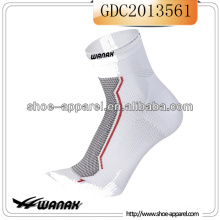 2014 Running Wear Compression Socks - White