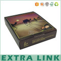Luxury Box CMYK printing paper candy chocolate packaging box With lid