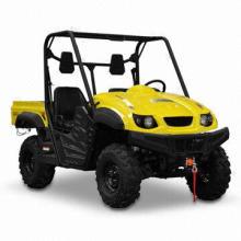 UTV/Utility Vehicle with 500cc Gasoline Engine, Measures 3,010 x 1,460 x 1,940mm
