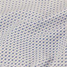 2017 la última camisa con estilo de la tela de la tela de la camisa de la camisa de la tela 115gsm estiramiento del algodón poplin para la camisa