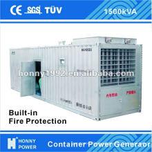 Generador de energía de contenedores
