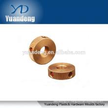 knurl flanged brass bushing,brass pin and bushing,brass bushing part