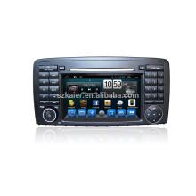 """7"""" андроид Автомобильный DVD разделе экскурсии mp5-плеер для Benz R-класса со встроенным Радио GPS"""