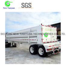 CNG Cilindro 8-Tube Semi-remolque para transporte de gas