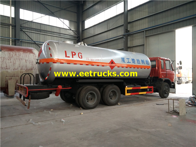 LPG Delivery Tank Trucks