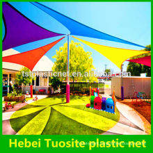 HDPE triangle sun sail shade