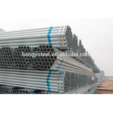 Preço barato quente mergulhado galvanizado tubo de aço preto tubo de aço preto