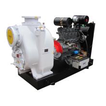 Pompe centrifuge T-8 pouces de la marque de l'océan pompe auto-amorçante d'eaux d'égout