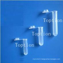 Tube de centrifugeuse à fond conique de 5 ml