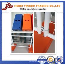 Panneau de clôture en acier temporairement facile à installer de haute qualité (YB-34)