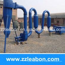300-400 kg / h Luftstrom Typ Holzspäne Trocknen Maschine